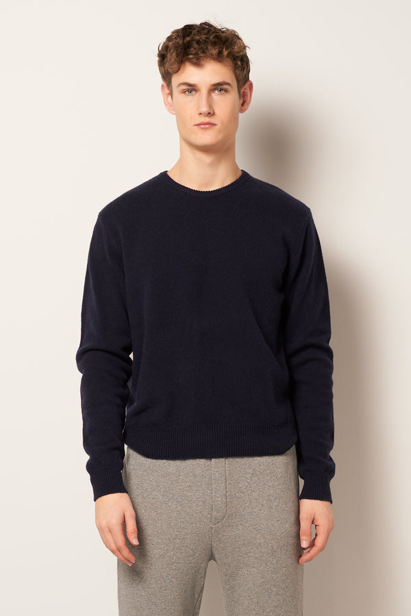 Soulabay Knitted Sweater Navy