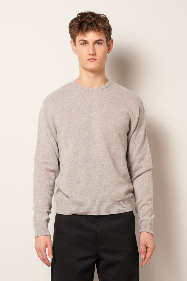 Soulabay Knitted Sweater Grey Melange