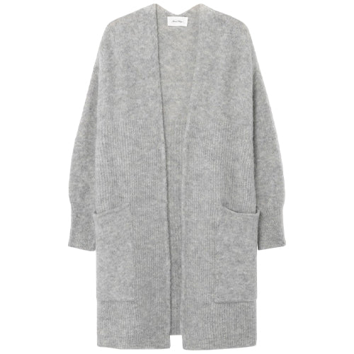 East Cardigan Heather Grey