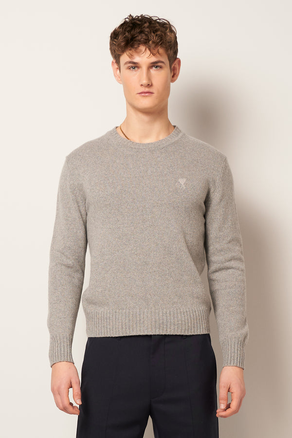 Crewneck Sweater Heather Grey