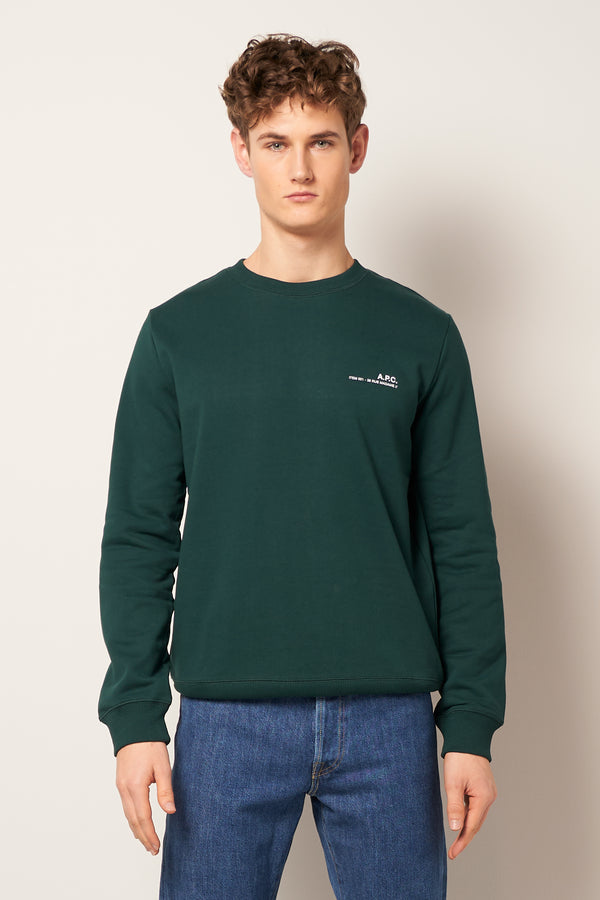 Item Sweatshirt Dark Green