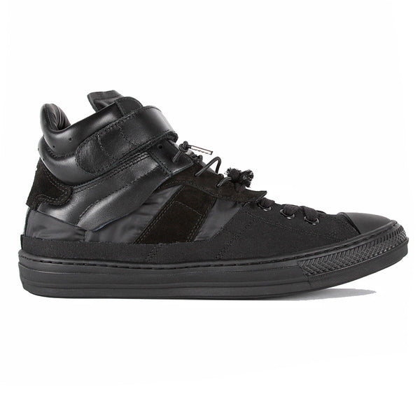 Evolution High Top Sneakers  Black