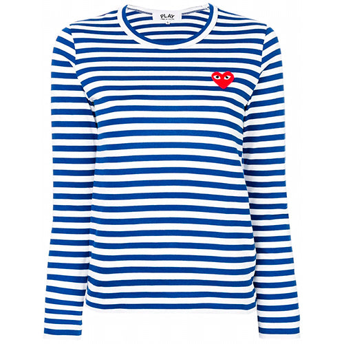 Play Striped T-shirt Ladies Navy