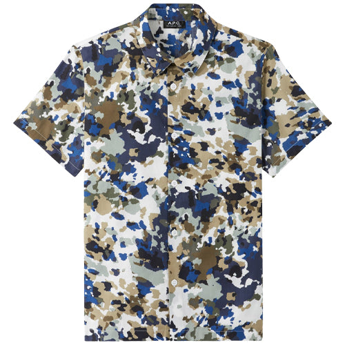 Leandre Short Sleeve Shirt Multicolor
