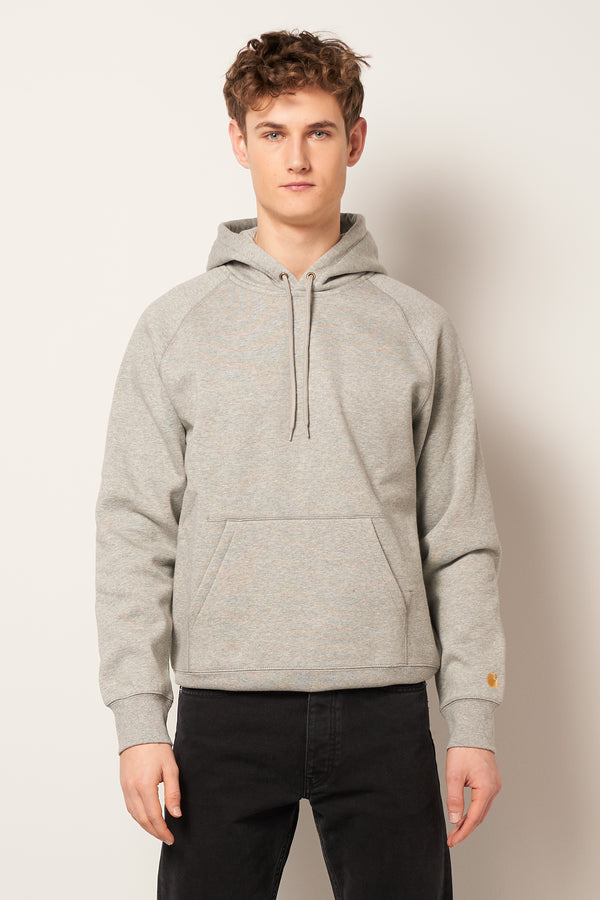 Hooded Chase Sweatshirt Heather Grey
