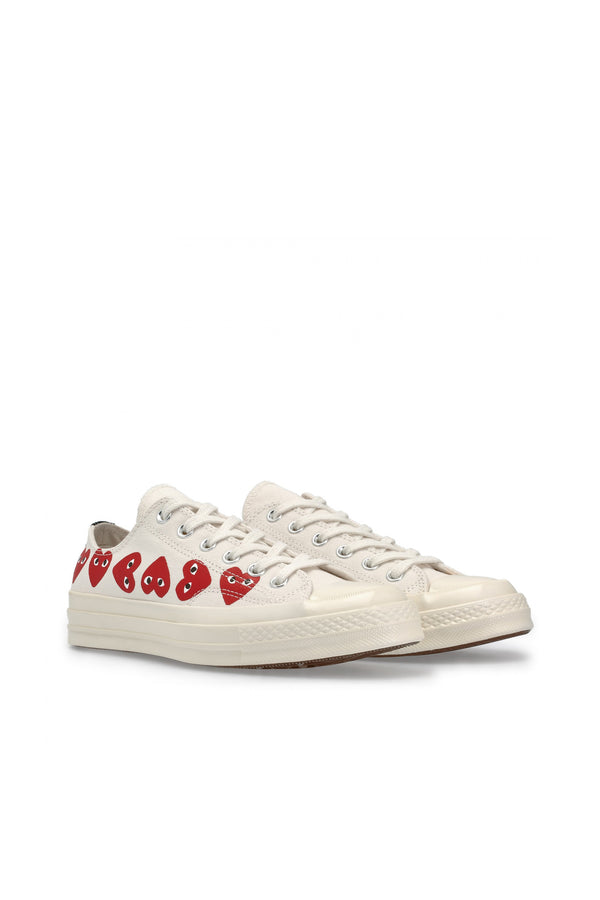 Chuck Taylor Multi Heart Low Sneakers Off White