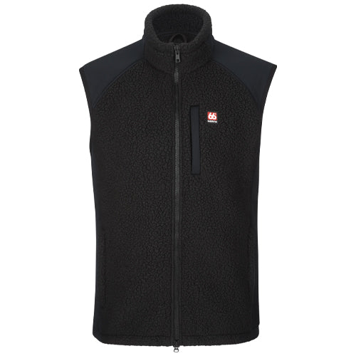 Tindur Sherling Vest Black