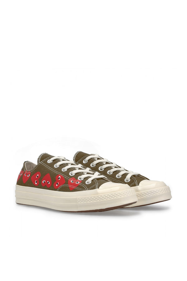 Chuck Taylor Multi Heart Low Sneakers Khaki