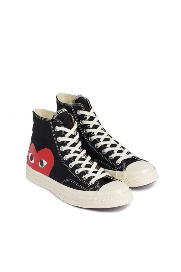 Chuck Taylor Red Heart High Sneakers Black