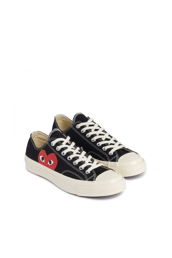 Chuck Taylor Red Heart Low Sneakers Black