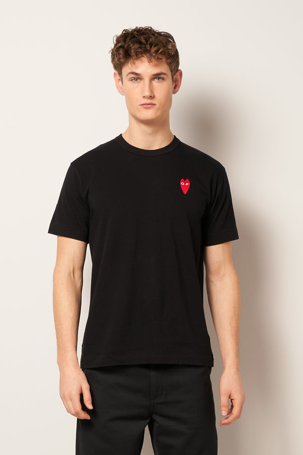 Skinny Heart T-shirt Black