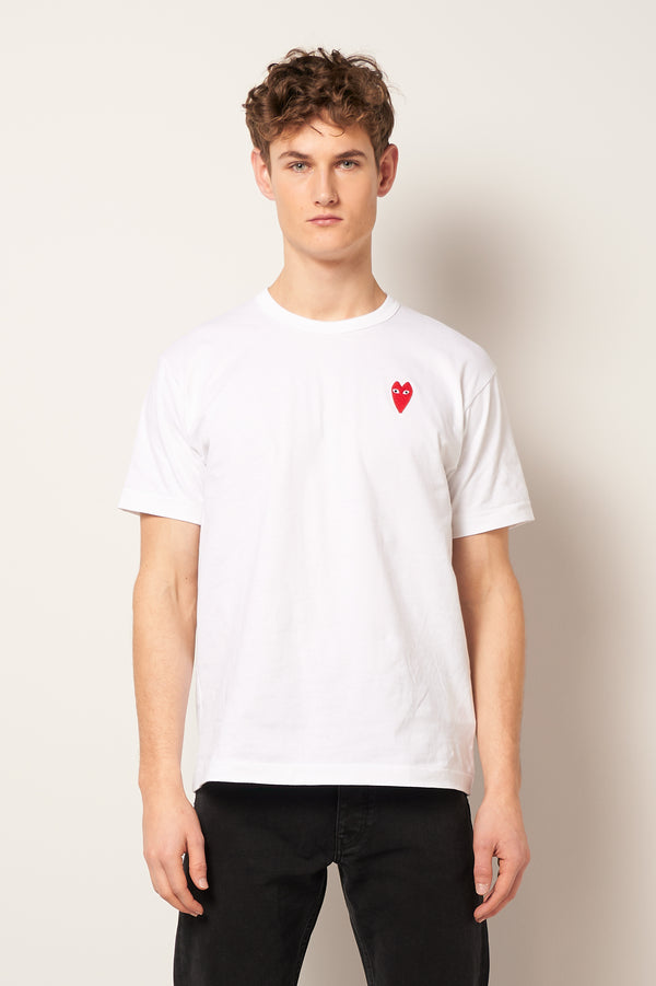 Skinny Heart T-Shirt White