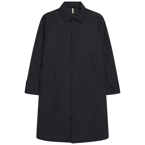 Relaxed Coat Black