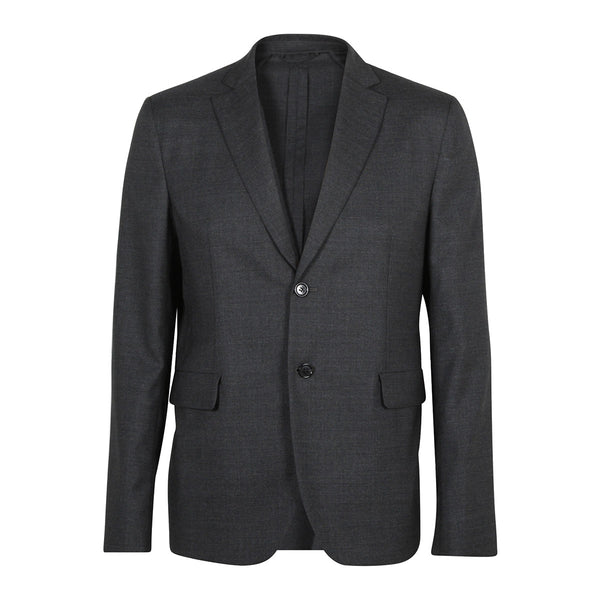 Antibes Wool Jacket Dark Grey Melange
