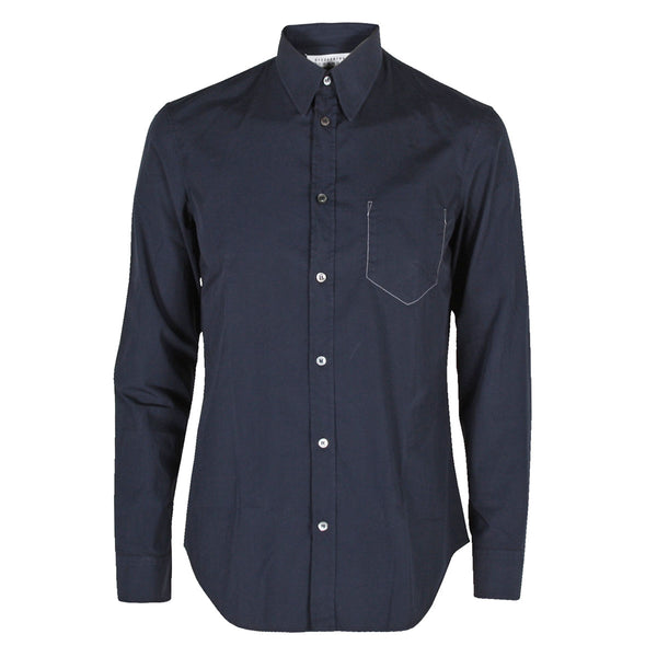 Inside Pocket Shirt  Dark Blue