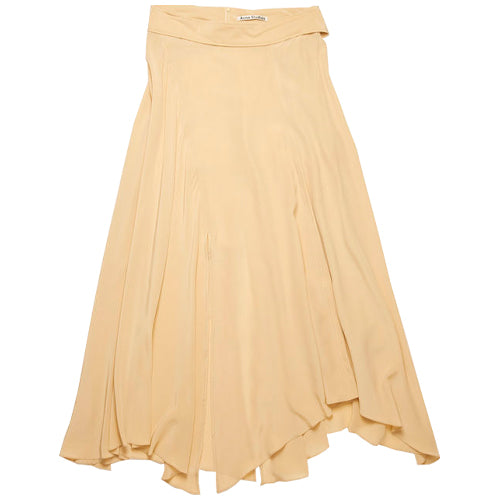 Izel Crepe Skirt Warm Beige