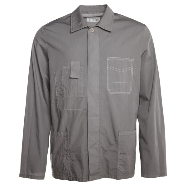 Garment Dye Overshirt Grey