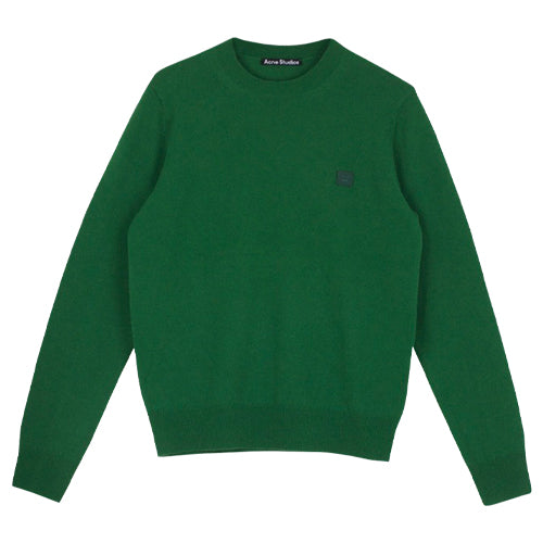 Kalon Face Sweater Deep Green