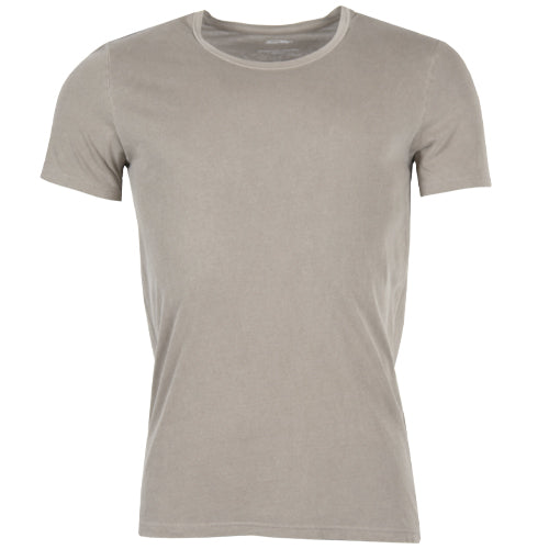 Vegiflower T-shirt Taupe
