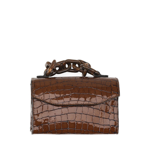 Belly Croc Bag Toffee