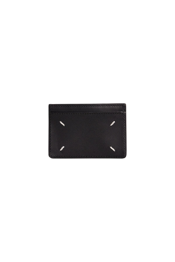 Stitch Card Holder Black