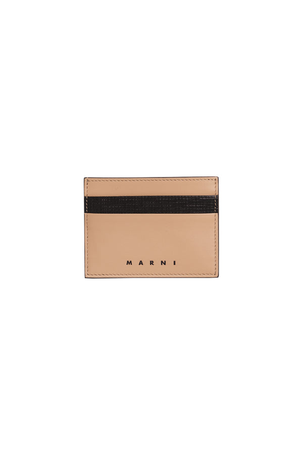 Contrast Card Holder Sand