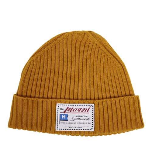 Wool Hat Yellow