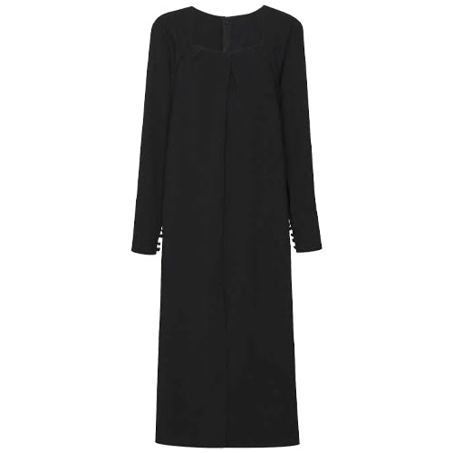 Renee LS Dress Black
