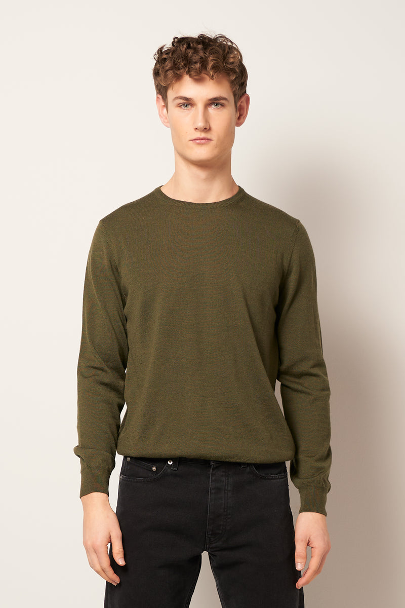 Wilfred Sweater Army Green