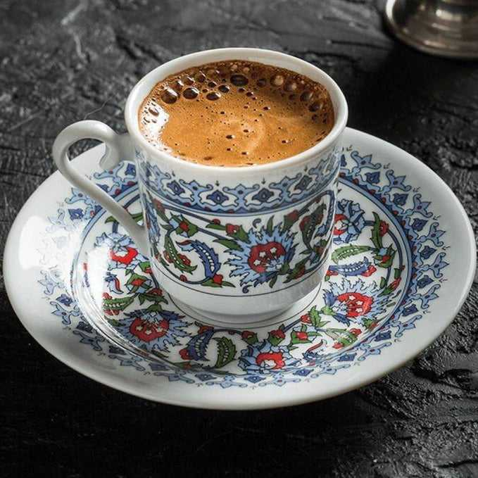 Turkish Traditional Coffee Set, Family set