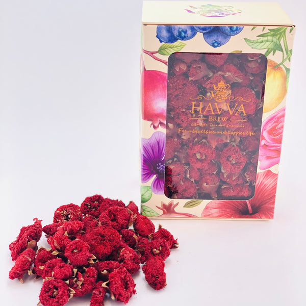 Havva Brew, Pomegranate Flower Tea, Caffeine-Free