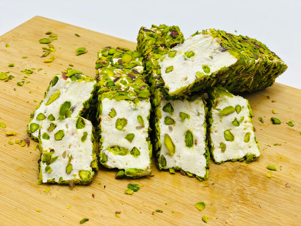Turkish Delight: Milk with Pistachio
