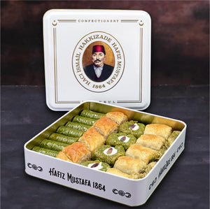 Hafız Mustafa, 5 Different Pistachio and Walnut Baklava Assortment, 1000g