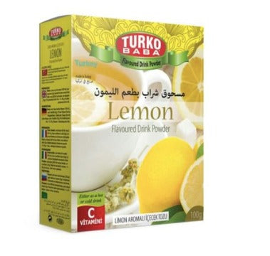 Lemon Tea, flavored drink powder Turko Baba, 300g