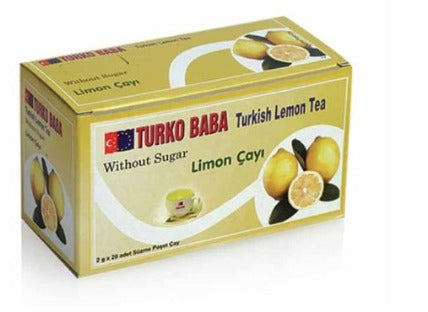 Lemon Tea, tea bags, Turko Baba