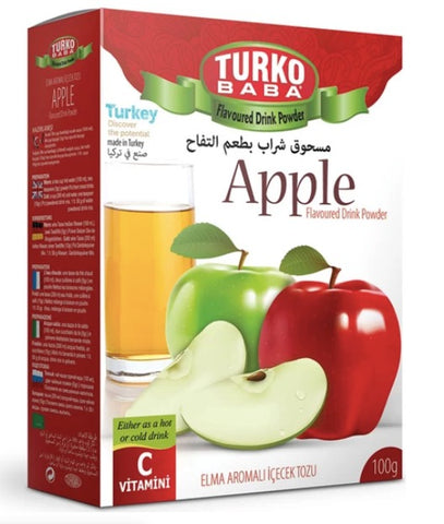 Turko Baba Apple Tea, flavoured drink powder