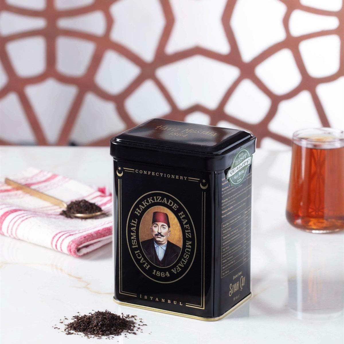 Hafız Mustafa, Black Tea in Metal Box