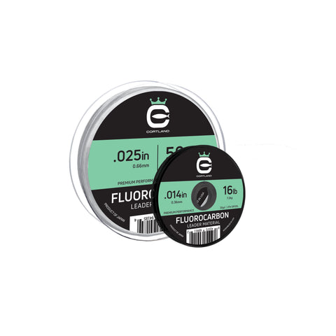 Cortland fluorocarbon leader material 30yd
