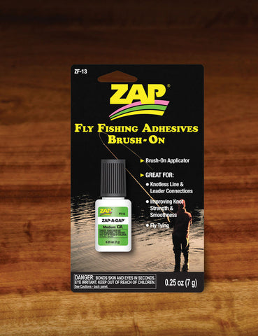 Zap a gap fly fishing brush
