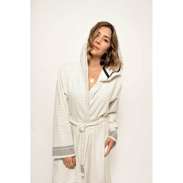 Pokoloko Unisex Turkish Cotton Robe