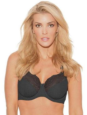 FIT FULLY YOURS Serena Lace -  Dark Colours, Large Cups underwire