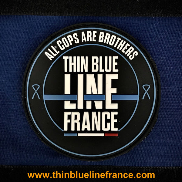 Patch underline thin blue line france