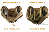 Pochette OneTigris Admin Dragon Snail (L) - PASSION TACTIQUE