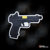 Sticker Canik TP-9 Elite Combat noir - PASSION TACTIQUE