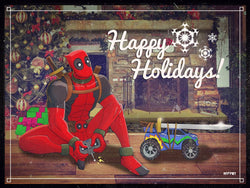 Top 5 Christmas Deadpool's from Deviant Art