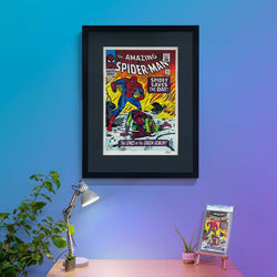 Free Slabbed Comic with Amazing Spider-Man Signed Print