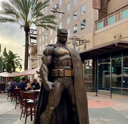 Jim Lee Inspired Batman Statue Unveiled in California