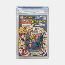 Action Comics #360 1968 Slabbed CGC 9.4