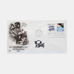 Batman Bob Kane Signed 'First Day of Issue' Envelope 22 Oct 1965