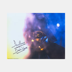 Darth Vader: Framed photo signed by David Prowse - worldofsuperheroesuk